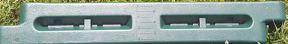 8 inch plastic borders